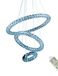 abordables -luminaire suspendu suspendu moderne suspendu a conduit des lustres de plafond d'anneau d'éclairage de luminaires suspendus 110-120v / 220-240v