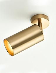 cheap -6 cm Adjustable Spot Light Metal Cylinder Electroplated Chic & Modern Modern 110-120V 220-240V
