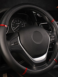 cheap -Universal Car Steering Wheel Cover Artificial Leather Comfortable Non-slip Automobile Steering-Wheel Cover