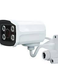 abordables -720p réseau de surveillance sans fil caméra wifi réseau hd vision nocturne en plein air pistolet étanche téléphone mobile moniteur de surveillance à distance