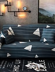 abordables -Housses de canapé extensibles 1 pièce - Housses de canapé imprimées en polyester et spandex - Housse / protecteur de meuble
