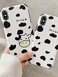 cheap -Case For Apple iPhone XS / iPhone XR / iPhone XS Max Shockproof / Dustproof / Water Resistant Back Cover Animal Soft TPU