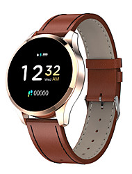 cheap -q9 Leather strap Men Smart Bracelet Smartwatch Android iOS Bluetooth Waterproof Touch Screen Heart Rate Monitor Blood Pressure Measurement Sports Stopwatch Pedometer Call Reminder Activity Tracker