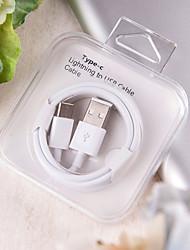 Недорогие -Type-C Кабель Нормальная / Плетение PP Адаптер USB-кабеля Назначение Samsung / Huawei / Nokia