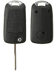 cheap -3 Buttons Remote Flip Key Fob For Vauxhall/OPEL Astra Vectra Zafira No Battery
