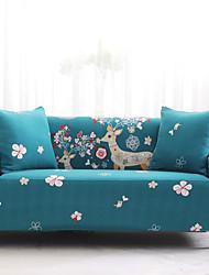 abordables -Housse de canapé Housses extensibles combinées de polyester de polyester élastique et de cerfs