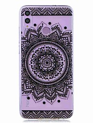cheap -Case For Huawei Honor 8X / Huawei P Smart (2019) Pattern / Transparent Back Cover Bilateral Flower Soft TPU for Mate20 Lite / Mate10 Lite / Y6 (2018) / P20 Lite / Nova 3i / P Smart / P20 Pro