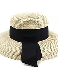 cheap -Straw Hats / Headpiece with Cap 1 Piece Daily Wear / Outdoor Headpiece