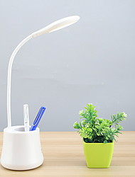 cheap -Modern Contemporary New Design Folding Desk Lamp with Pen Holder For Bedroom / Study Room / Office Plastic <36V