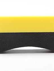 cheap -Car Professional Tyre Tire Dressing Applicator Multifunctional Curved Foam Sponge Pad