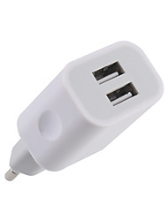 cheap -EU / US Plug Multi-Output 2 USB Ports 2.4A DC5V / 100-240V Quick Fast USB Charge Support Phone/Table and Other Devices