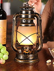 cheap -Table Lamp Rustic Lodge USB Powered For Bedroom Indoor Metal 220V