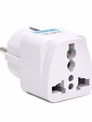 cheap -UK US AU to EU AC Power Socket Plug Travel Charger Adapter