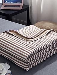 abordables -Confortable - 1 Couette Eté Coton Rayé