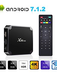 cheap -X96 mini Android TV BOX X96mini Android 7.1 Smart TV Box 2GB 16GB Amlogic S905W Quad Core 2.4GHz WiFi Android 9.0 1GB8GB