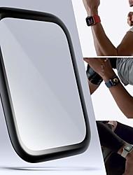 Недорогие -умные часы протектор экрана для серии Apple Watch 5/4/3/2/1 закаленное стекло высокой четкости (hd) анти-царапинам пузырьки прозрачная пленка 2 шт