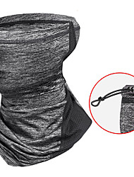 cheap -Wheel up Balaclava Neck Gaiter Neck Tube Sunscreen Breathable Moisture Wicking Quick Dry Dust Proof Bike / Cycling White Black Grey Lycra for Men's Adults' Mountain Bike / MTB Outdoor Exercise Bike