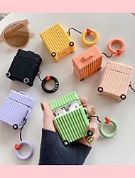 Недорогие -для наушников для наушников сумка для переноски силиконовая резина румяна розовый / желтый / синий 1 шт