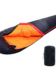 cheap -Shamocamel® Sleeping Bag Outdoor Camping Mummy Bag -5 ~ -12 °C Single White Duck Down Ultralight Waterproof Warm Moistureproof Ultra Light (UL) Soft Comfortable Skin Friendly 205*80 cm Autumn / Fall