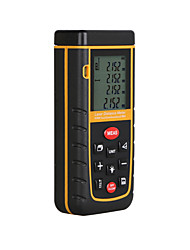 cheap -RZ A60 Portable Laser Distance Meter 0.05 to 60m with Bubble Level High Accuracy Measurement