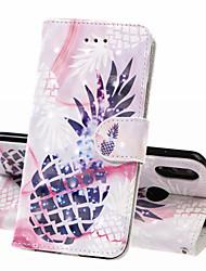 cheap -Case For Huawei Huawei Nova 3i / Huawei Honor 10 / Honor 10 Lite Wallet / Card Holder / Shockproof Full Body Cases Food Hard PU Leather