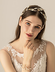 cheap -Imitation Pearl Headbands / Headdress / Hair Accessory with Imitation Pearl 1 pc Wedding / Party / Evening Headpiece