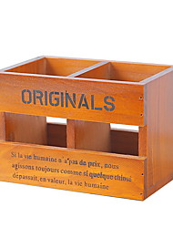 cheap -Storage Box Wooden Ordinary / Antique Accessory 1 Storage Box Household Storage Bags