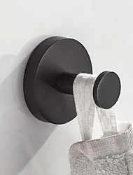cheap -Robe Hook New Design / Creative Contemporary / Antique Stainless Steel + A Grade ABS / Stainless steel / Metal 1pc - Bathroom Wall Mounted