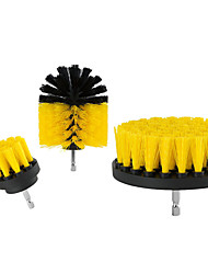 cheap -Electric Tools Clean Sofa Furniture Plastic Floor Flat Pipe Brush Head Set
