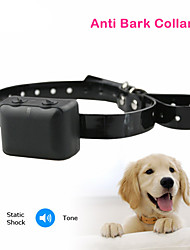 cheap -Dogs Bark Collar Trainer Anti Bark Rechargeable Plastics TPU Black