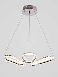 cheap -1-Light CONTRACTED LED® Sputnik / Novelty Chandelier Ambient Light Painted Finishes Aluminum Creative, New Design 110-120V / 220-240V Warm White / Cold White