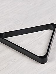 cheap -Billiard Ball Racks ABS Pool triangle Black Professional