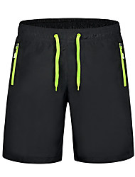 """cheap -Men's Hiking Shorts Patchwork Summer Outdoor 10"""" Relaxed Fit Breathable Quick Dry Sweat-wicking Comfortable Shorts Bottoms White Orange Green Camping / Hiking Hunting Fishing M L XL XXL XXXL -"""