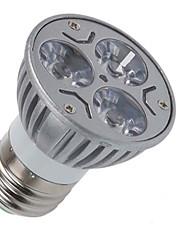 cheap -1pc 3 W LED Spotlight 110-210 lm E26 / E27 3 LED Beads Warm White Cold White 85-265 V