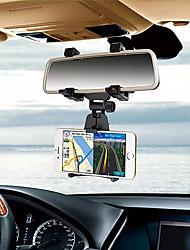 Недорогие -держатель зеркала заднего вида автомобиля держатель телефона 360 градусов регулируемый держатель сотового телефона