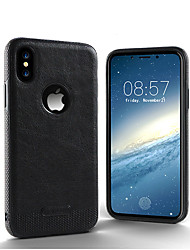 cheap -Luxury Textured Back Cover Flexible Soft Shockproof Full Protection Cases for iPhone X