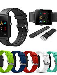 cheap -Sport Silicone Wristband Wrist Strap Watch band For Garmin Vivoactive Acetate Smart Watch