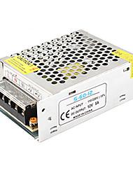 Недорогие -1 шт. Светлая полоса световая строка видеомониторинг импульсный источник питания вход ac85-265v выход 12 В 60 Вт