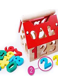 Недорогие -Семья Взаимодействие родителей и детей Дерево / Бамбук Детские Все Игрушки Подарок 10 pcs