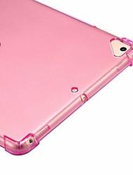cheap -Case For Apple iPad Mini 5 / iPad New Air(2019) / iPad Air Shockproof / Transparent Back Cover Solid Colored Soft TPU / iPad Pro 10.5 / iPad (2017)
