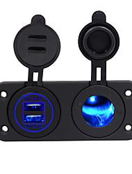 Недорогие -автомобильное зарядное устройство 2 порта USB на 5 В
