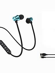 cheap -LITBest XT11 Neckband Headphone Wireless Bluetooth 4.2 Microphone Wireless Stereo with Volume Control Phone Control Sport Fitness