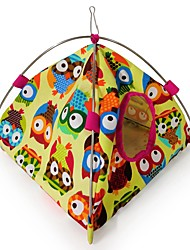 cheap -Bird Perches & Ladders Pet Friendly Focus Toy Felt / Fabric Toys Bird Oxford Cloth Metal 22 cm
