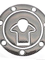 Недорогие -универсальный мотоцикл уникальный танк колодки протектор fishbone стикер для suzuki honda