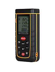 cheap -RZ A40 Portable Laser Distance Meter 0.05 to 40m with Bubble Level High Accuracy Measurement