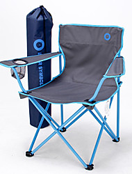 cheap -BEAR SYMBOL Camping Chair with Armrest with Cup Holder Portable Foldable Anti-tear 500D Nylon Steel for 1 person Fishing Beach Camping Traveling Autumn / Fall Winter Blue Orange Green