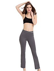 cheap -Women's Yoga Pants Solid Color Running Dance Fitness Bottoms Activewear Breathable Quick Dry Soft Butt Lift Micro-elastic Slim
