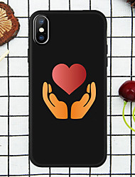 cheap -Case For Apple Love Back Cover Hands and Love Soft TPU for iPhone X/ XS/XR/XS MAX/7p/8p/6p/8/7/6