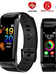 cheap -B02S Smart Bracelet Watch Fitness Belt Heart Rate Blood Pressure Monitor Sports Activity Tracker Smart Bracelet Android IOS