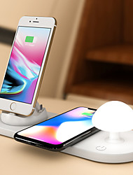 cheap -Dock Charger / Wireless Car Chargers USB Charger Universal with Cable / Multi-Output / Wireless Charger 3 USB Ports 5 A DC 5V for Universal